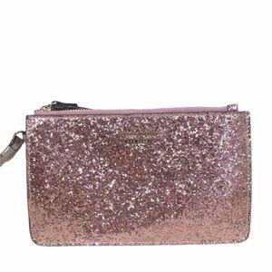 Kate Pink Spade Sparkle Glitter Wristlet